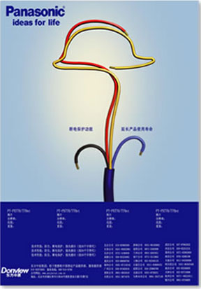 松下创意海报设计; 广告设计松下图; 03 创意海报