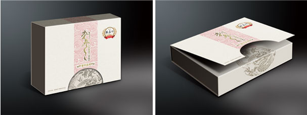 翰真坊海参礼盒包装设计