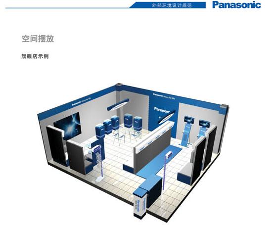 panasonic(松下电器)产品整体展示设计
