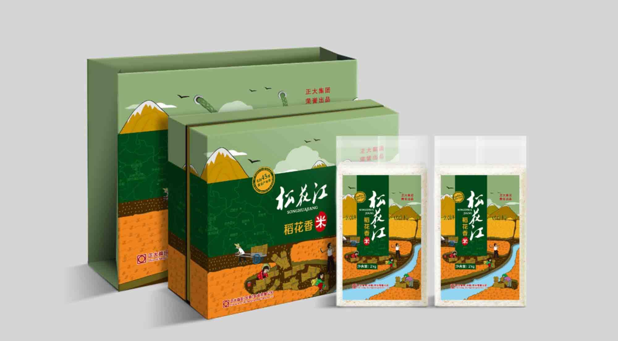 风火锐意顺利完成正大集团农产品系列包装 - 标志设计